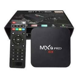 TV Box MXQ Pro 8Gb de RAM e 128 Gb de armazenamento