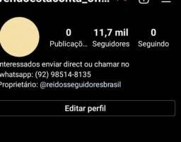 Instagram com 11 mil seguidores