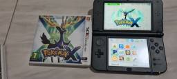 New 3DS XL com pokemon X.