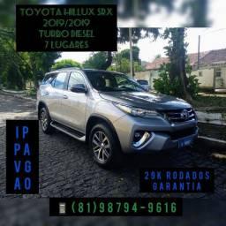 Toyota hillux Sw4 SRX 2.8 TDI Turbo diesel 7 lugares