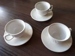 Conjunto de porcelana para Chá/café