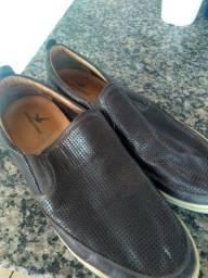 Sapato , medida certa , pouco usado , semi novo