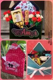 Caixa_Cesta dia dos Namorados<br>R$:50,00 com 16 itens<br>Somos de São José dos Pinhais<br>