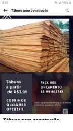 Tábuas para construção