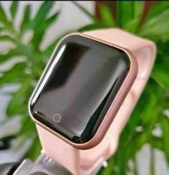 Relógio Smartwatch Inteligente Y68/D20 Prova D'Água