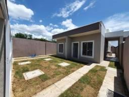 Casas Planas com 02 Quartos -