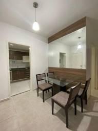 Apartamento Condomínio Eliza Miranda, semimobiliado.