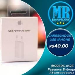 Carregador Usb Apple iPhone / Usb Power Adapter (Fazemos entregas)