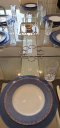 Aparelho de Jantar de porcelana Azul - Vista Alegre Portugal