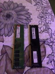 Memória 2x8GB  2400mhz Semi nova
