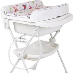 Banheira de bebê Burigotto Splash Monstrinhos Completa (Pouco Usada)