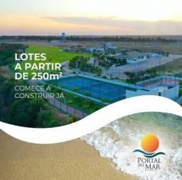 Título do anúncio: 136 Portal do Mar, um paraíso de lugar!! Lotes bem pertinho da praia de Panaquatira!!