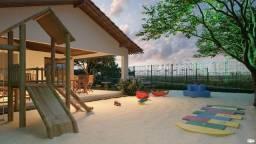 JD Super aconchegante, com varanda, elevador, piscina, 2 quartos - Buganvilles.