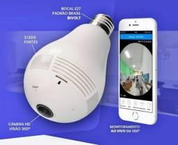 Lampada camera espia- entrega e configuração