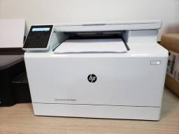 Impressora HP M180nw - seminova
