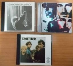 CDs - U2 - Três CDs para colecionadores