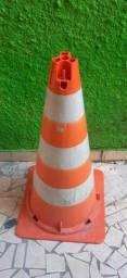 Cone de Trânsito de PVC