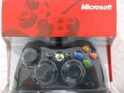 Título do anúncio: Controle Original Xbox 360 Com fio e Pc