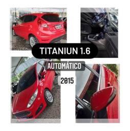 Fiesta Titaniun 1.6 Automático