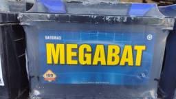 Bateria novas e usadas