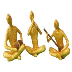 Estatueta Musicos Tailandes