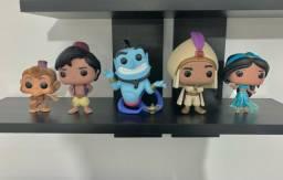 Kit Coleção Funko Pop Aladdin - Disney