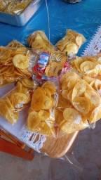 Bananinhas crocante e pururucas
