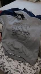 Moletom canguru Adidas original
