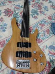 Bass fretlees da washburn top