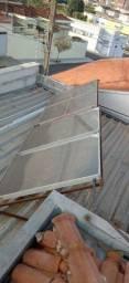 Boyner de água quente com placa solar  funcionando tudo interessado zp *