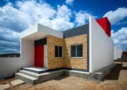 Casa 2 quartos pronta pra  morar! Financiamento  com parcelas a partir de 520 reais!