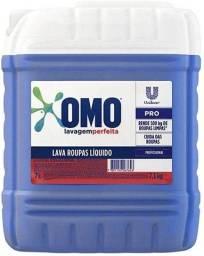 Sabão Líquido OMO Lavagem Perfeita 7 litros Profissional.