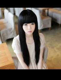 Peruca cabelo longo cosplay