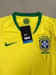 Camiseta Oficial Seleção Brasileira 2018/2019
