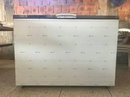 Freezer 270 litros inox