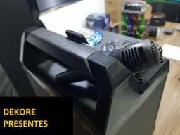 Caixa De Som Altomex A-8016 Fm Bluetooth + Microfone Grátis 55w