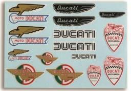 Adesivos Ducati Resinado