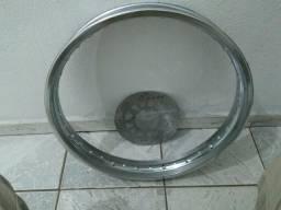 Aro da roda tdm 225 e disco de freio