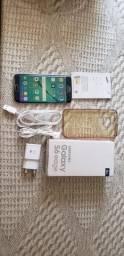 Samsung s6 edge 32gb, completo com caixa e nota