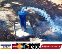 Poço Semi Artesiano 30, 50 e 70 metros (Vale do Paraíba) Pague em até 12x no cartão