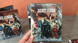 Steelbook Liga da Justica 3D + 2D 2 discos lacrado novo