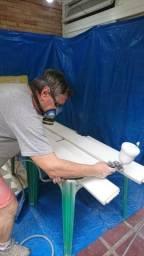 Laqueação e pinturas de móveis de madeira