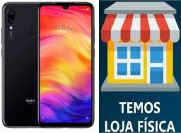 Promoção Xiaomi Note 7 48mpx 4GB Ram 64GB, Preto, Global, Novo lacrado