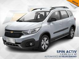 CHEVROLET SPIN 1.8 ACTIV 8V FLEX 4P AUTOMÁTICO - 2019