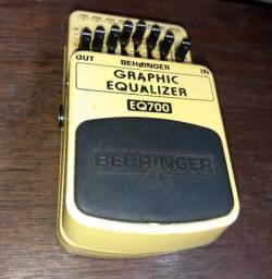 Pedal para guitarra Behringer - Eq700 - Graphic Equalizer - Conservadíssimo