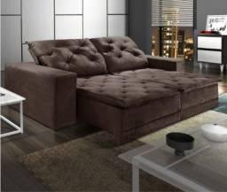 Título do anúncio: Sofá Retrátil e Reclinável Com Pillow Martins 250m - pronta entrega - frete grátis