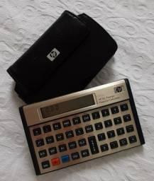 Vendo Calculadora HP 12c Prestige com capa de couro HP