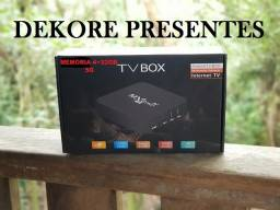 TV Box WiFi 5G Pro - Android Atualizado 10.1 - 8+64G