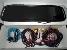 Retrovisor LCD + Câmera de Ré