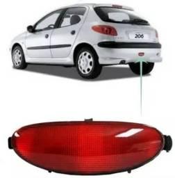 Refletor / Luz neblina Parachoque traseiro para Peugeot Hatch 206